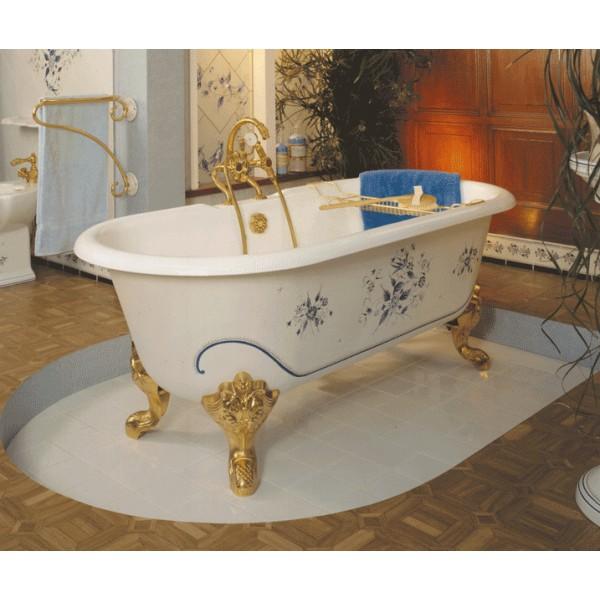 baignoire en fonte antoinette 154 cm herbeau. Black Bedroom Furniture Sets. Home Design Ideas