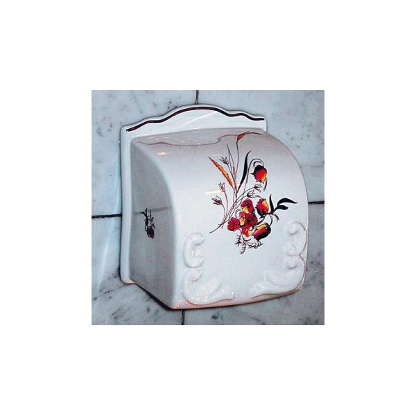 Distributeur papier rouleau charleston herbeau - Distributeur rouleau papier toilette ...