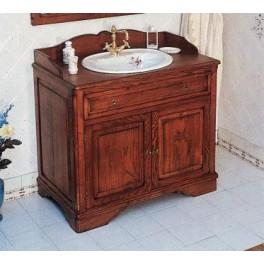 Meuble de salle de bains celine 100 cm pour vasque poser - Meuble pour poser vasque ...