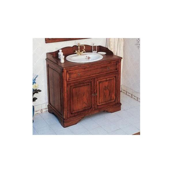 Meuble de Salle de bains CELINE 100 cm pour vasque à poser - Herbeau