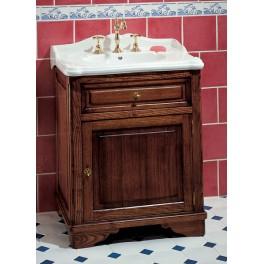 Meuble de salle de bains celine 70 cm pour vasque poser herbeau - Meuble pour poser vasque ...