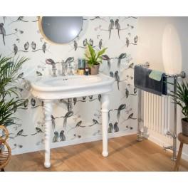 paire pieds belle epoque pour table lavabo herbeau. Black Bedroom Furniture Sets. Home Design Ideas