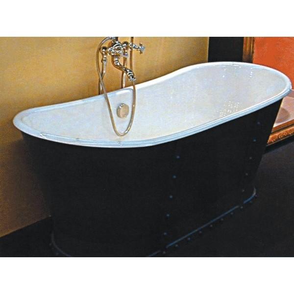 baignoire en fonte eiffel avec tablier complet herbeau. Black Bedroom Furniture Sets. Home Design Ideas