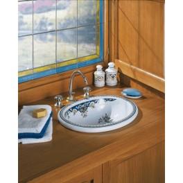vasque de lavabo poser opale herbeau. Black Bedroom Furniture Sets. Home Design Ideas