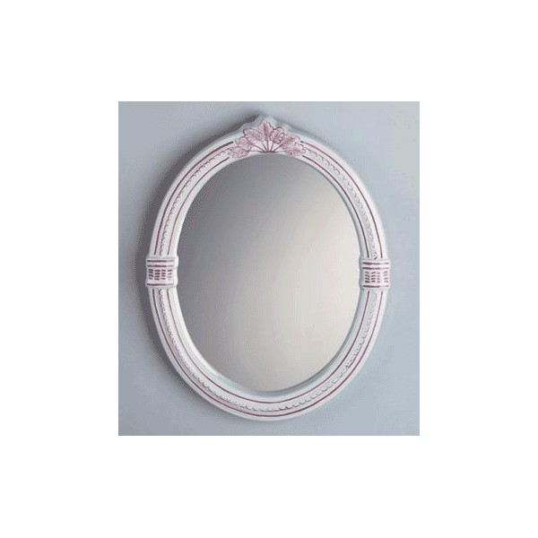 Miroir glace ovale 32x39 cm herbeau for Glace miroir