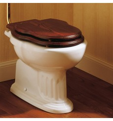 Abattant double de WC CHARLESTON en bois