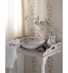 Mélangeur de lavabo 3 Trous mural ROYALE (à serrer)
