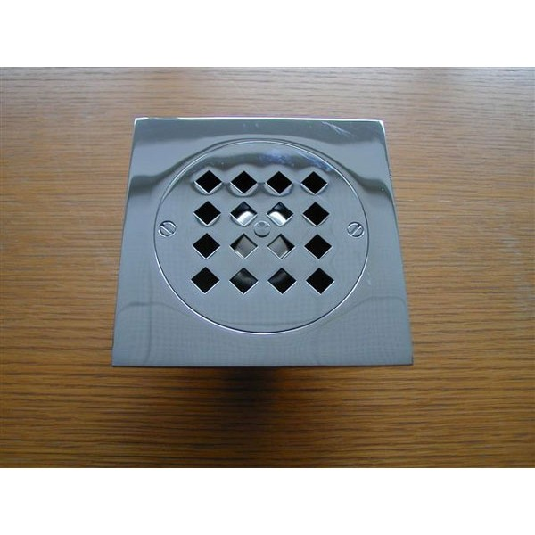 bonde de sol pour douche monarque sortie droite herbeau. Black Bedroom Furniture Sets. Home Design Ideas