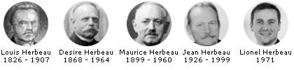 Maison Herbeau, 5 générations